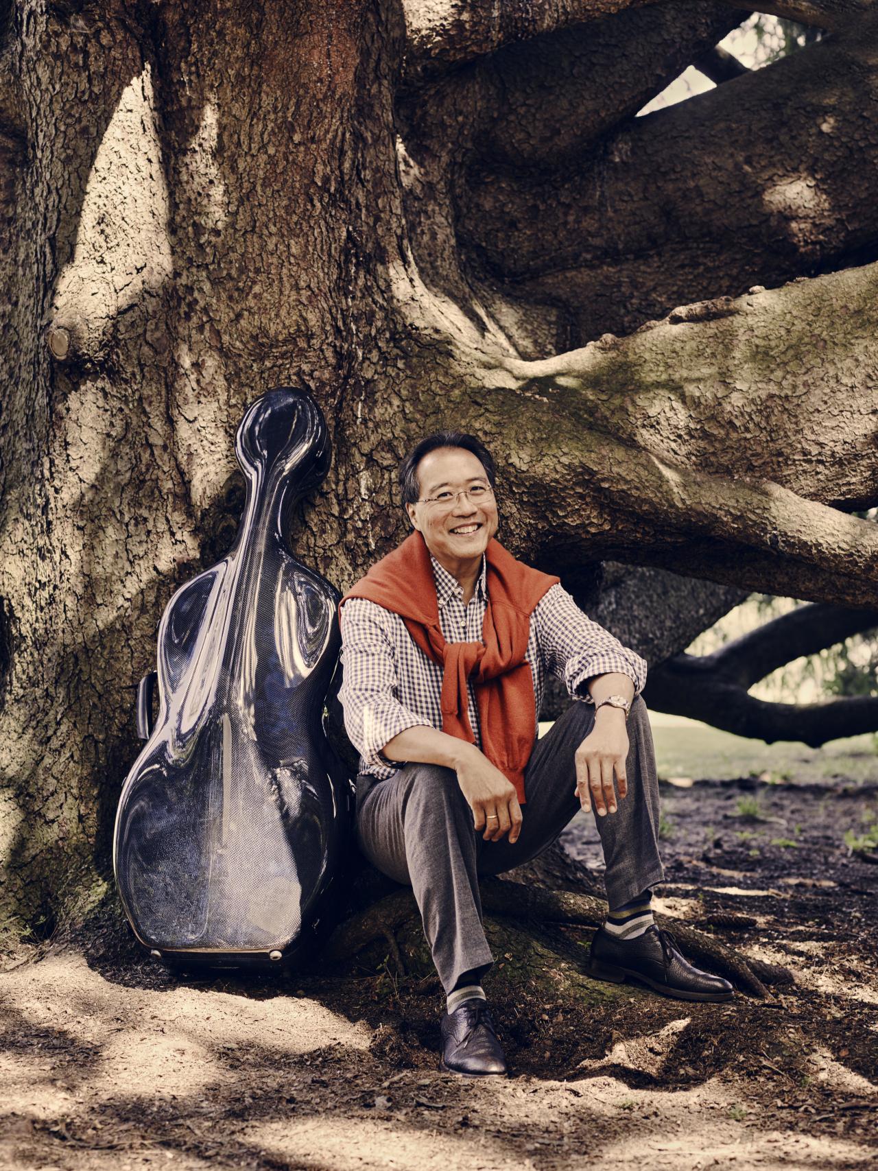 Cellist Yo-Yo Ma (Jason Bell / Credia)