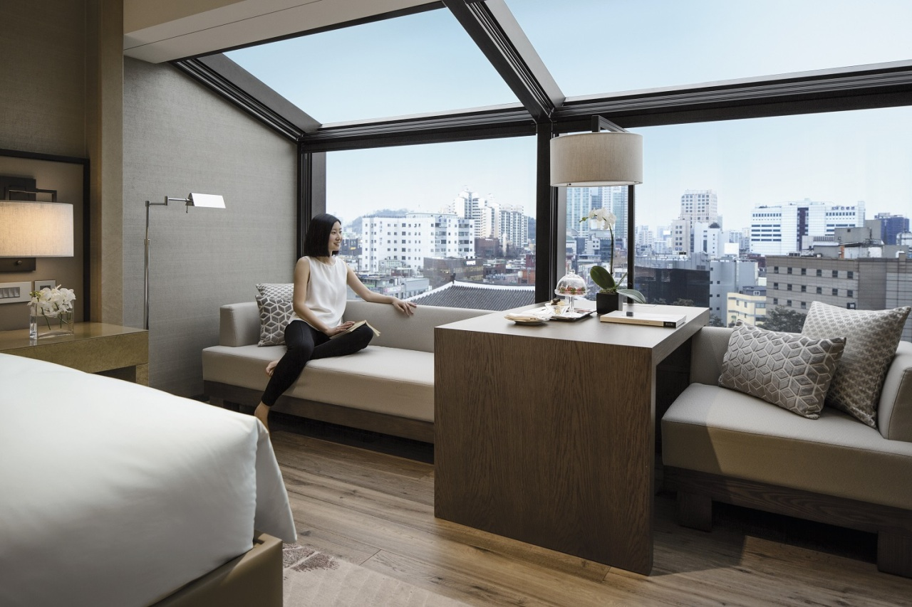 Sky View room at JW Marriott Dongdaemun Square Seoul (JW Marriott Dongdaemun Square Seoul)