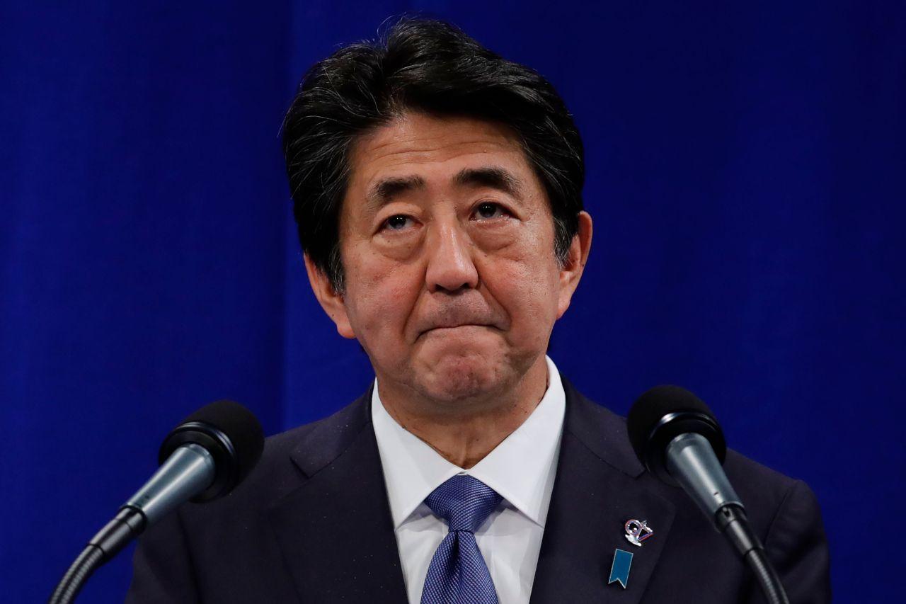 Japanese Prime Minister Shinzo Abe (AFP)