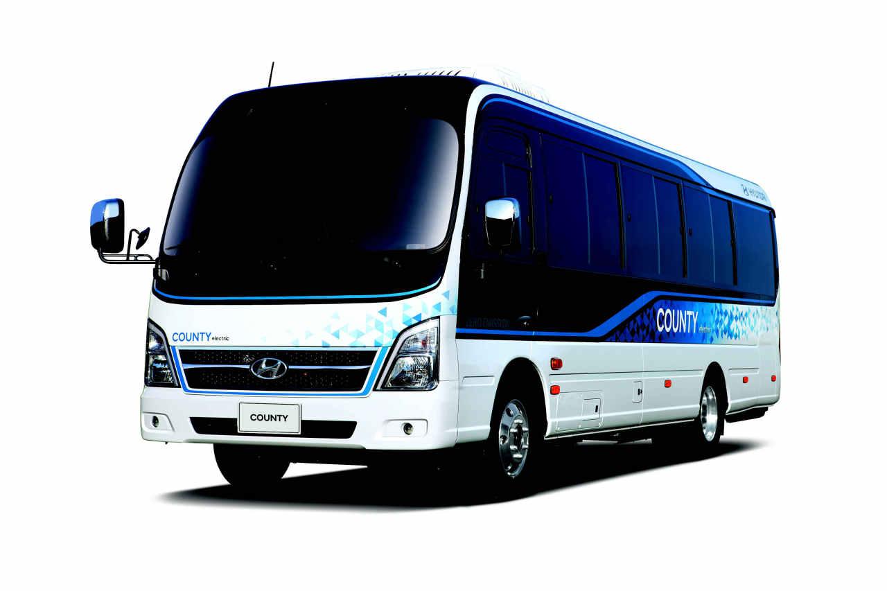 Hyundai Motor Group's electricity bus County EV (Hyundai Motor Group)
