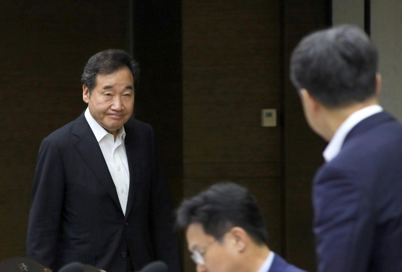 South Korean Prime Minister Lee Nak-yon (Yonhap)