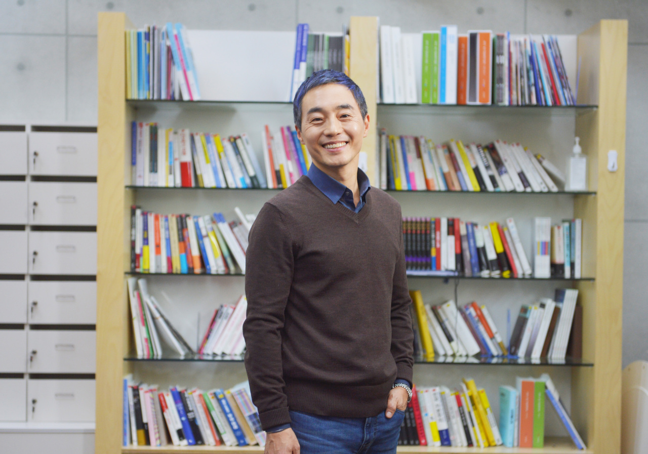 Kim Jeung-bin, CEO of recycling startup SuperBin. (SuperBin)