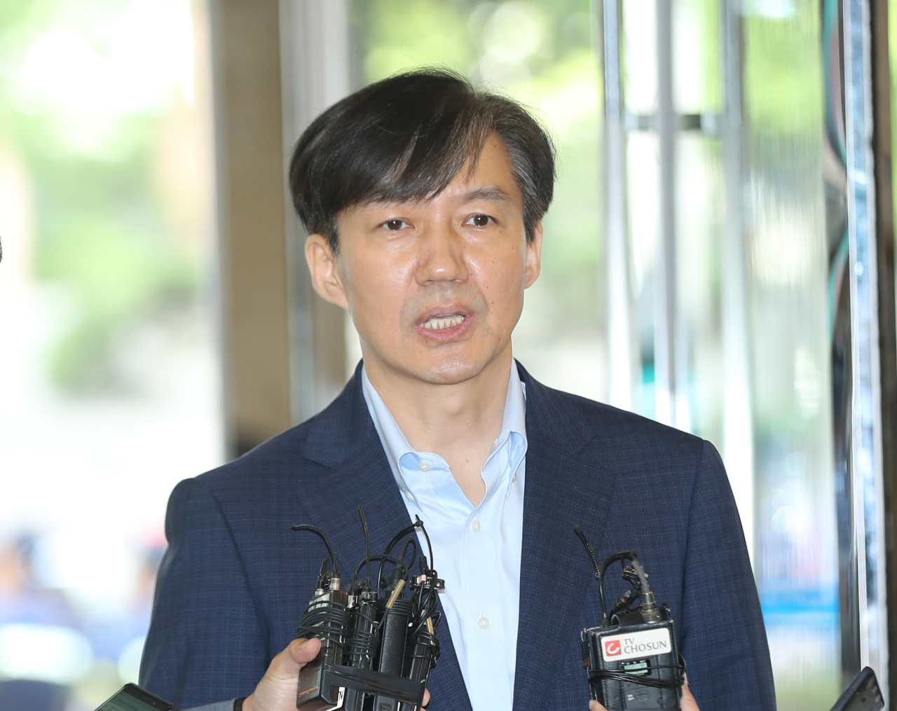 Cho Kuk. Yonhap