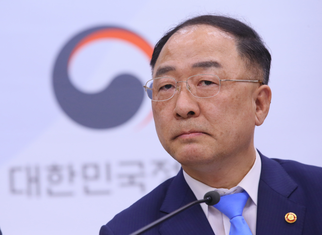 Deputy Prime Minister and Finance Minister Hong Nam-ki. (Yonhap)