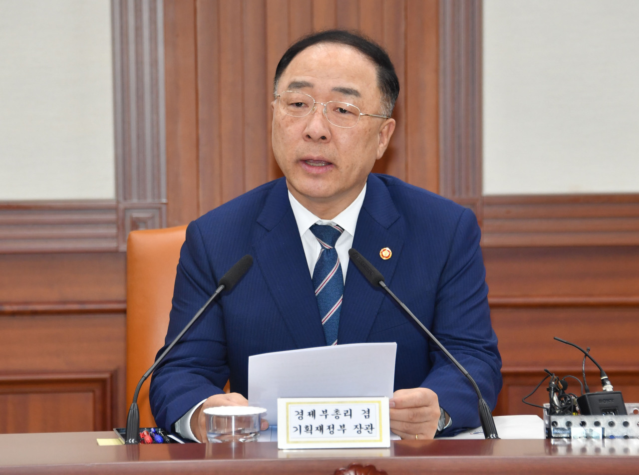 Deputy Prime Minister and Finance Minister Hong Nam-ki. (Ministry of Economy and Finance)