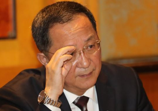 North Korean Foreign Minister Ri Yong Ho (Yonhap)