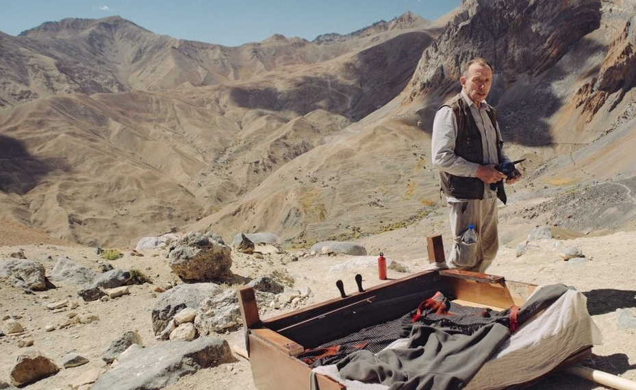 This image provided by the Ulju Mountain Film Festival, shows a scene from Michal Sulima`s