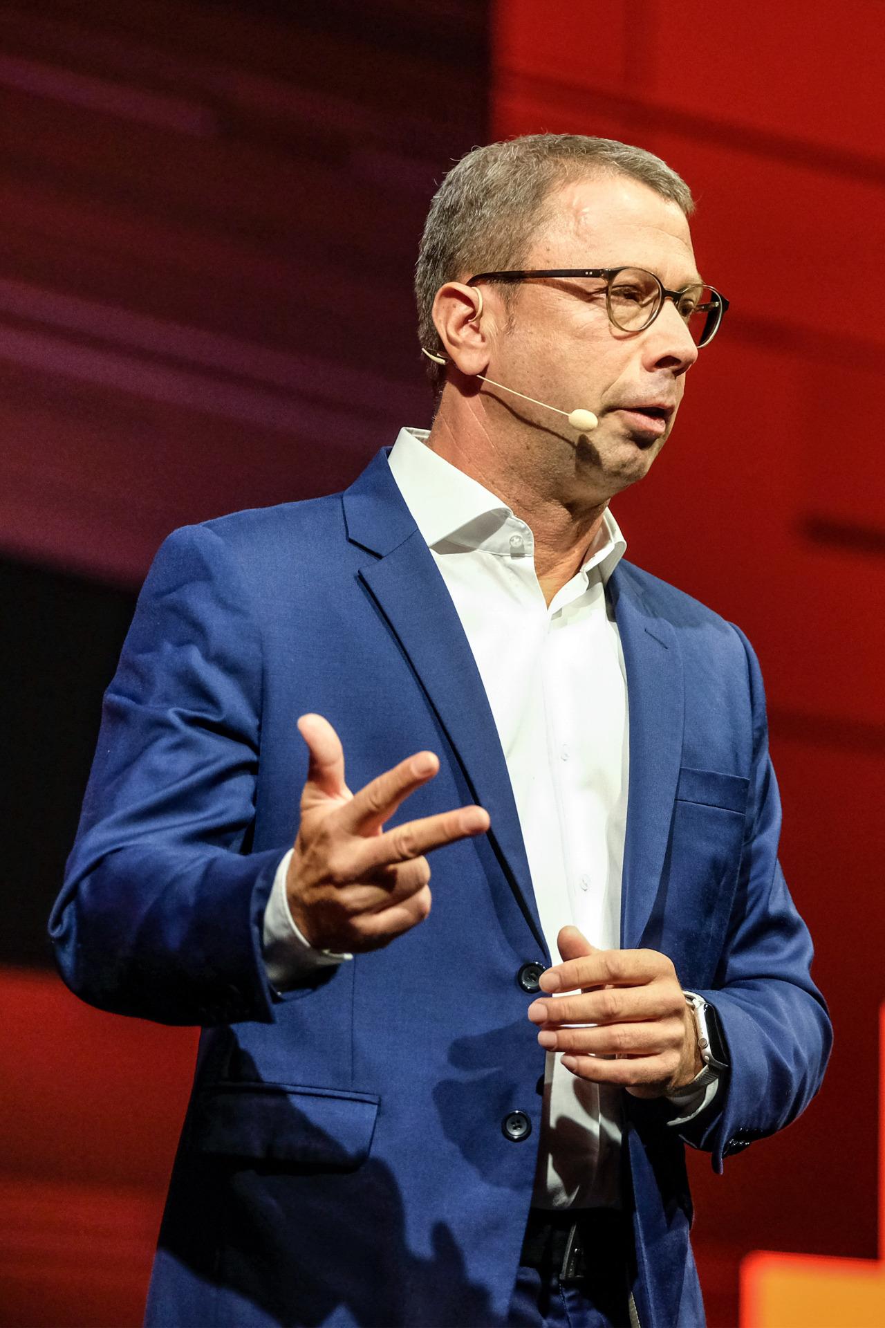 Jens Heithecker, the IFA executive director (Messe Berlin)
