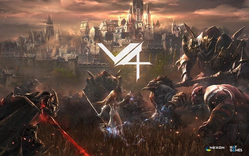 Image of V4's gameplay. Nexon