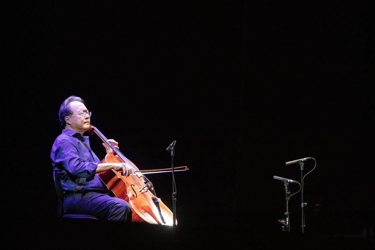 Cellist Yo-Yo Ma (Credia)