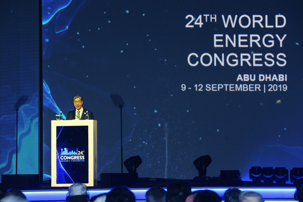 World Energy Council Chairman and Daesung Group Chairman Younghoon David Kim (Daesung)