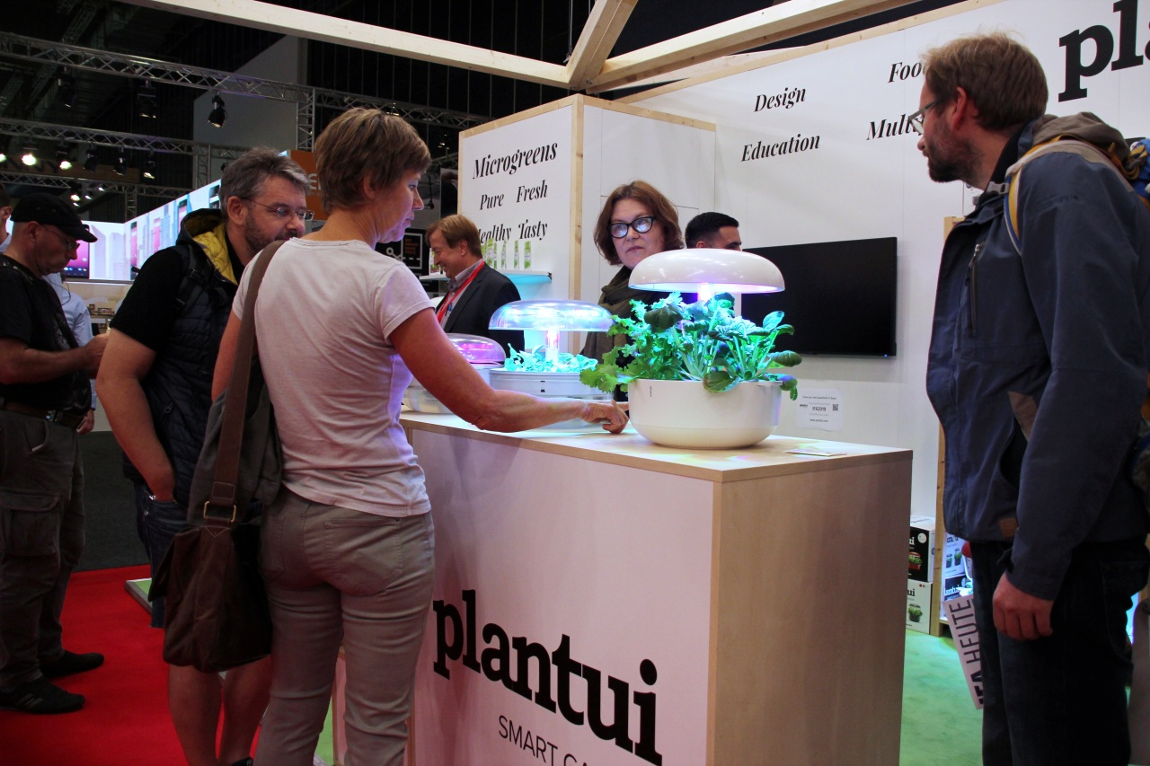 Plantui booth at IFA 2019 (Lim Jeong-yeo/The Korea Herald)