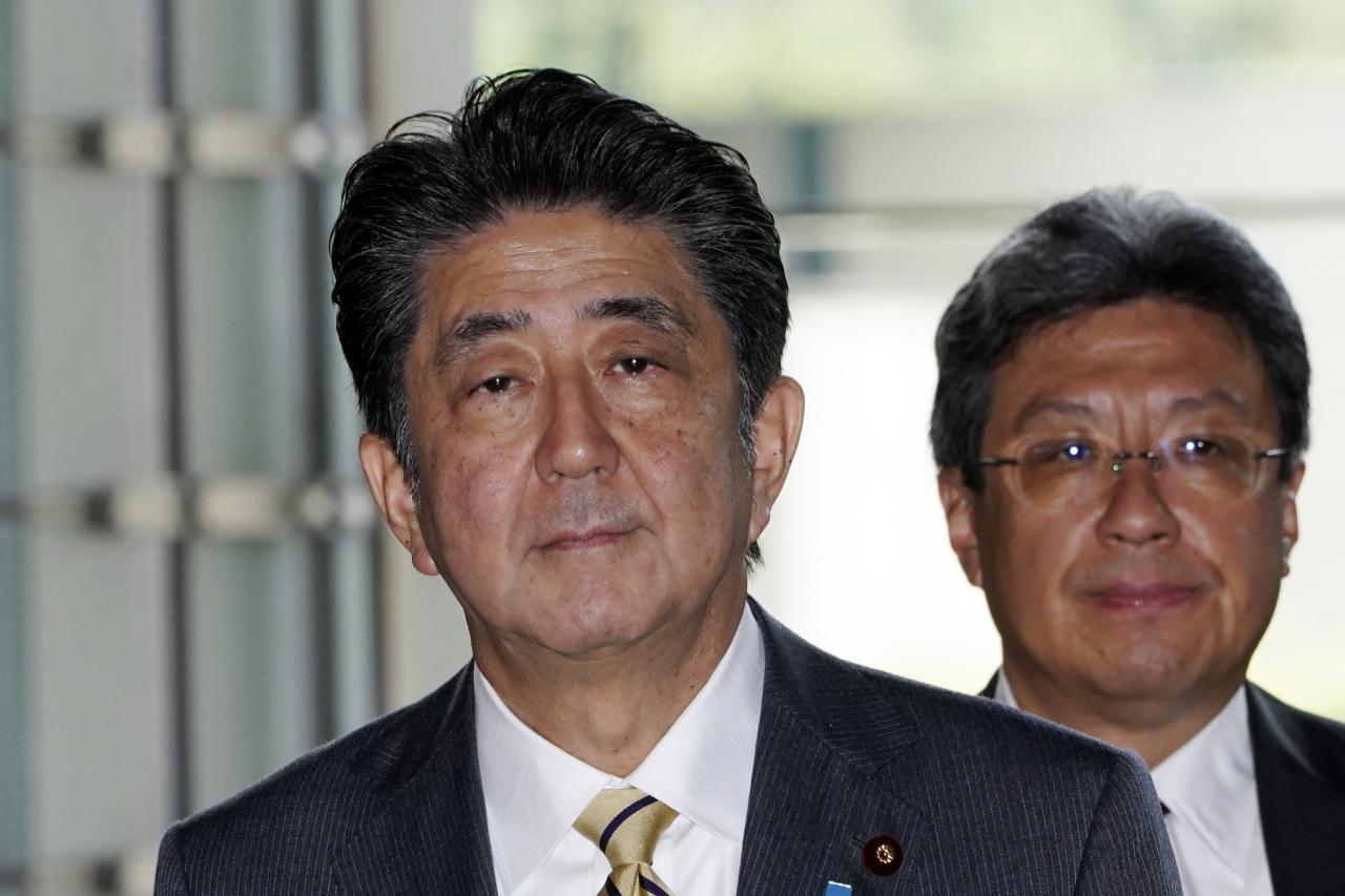 Japanese Prime Minister Shinzo Abe (AP)