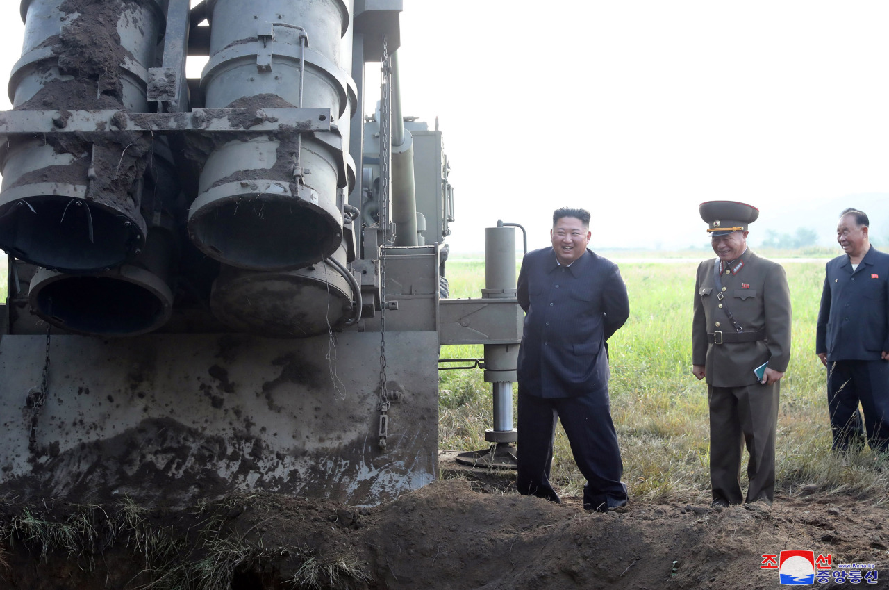 [Newsmaker] NK's test-firing of new rocket launcher likely failed