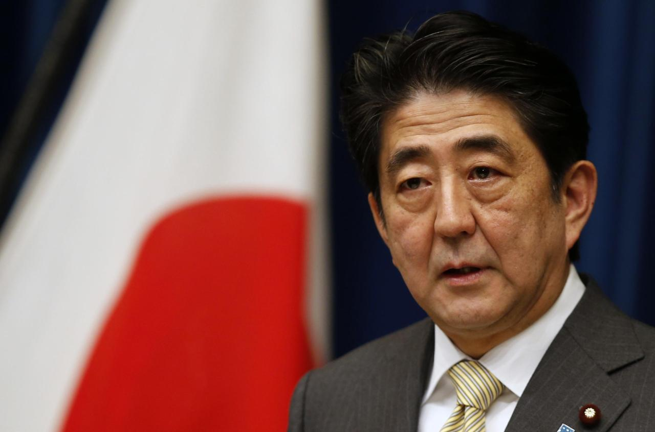Japanese Prime Minister Sinzo Abe. Yonhap