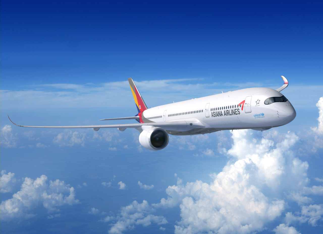 Asiana Airlines' A-350 aircraft (Asiana Airlines)