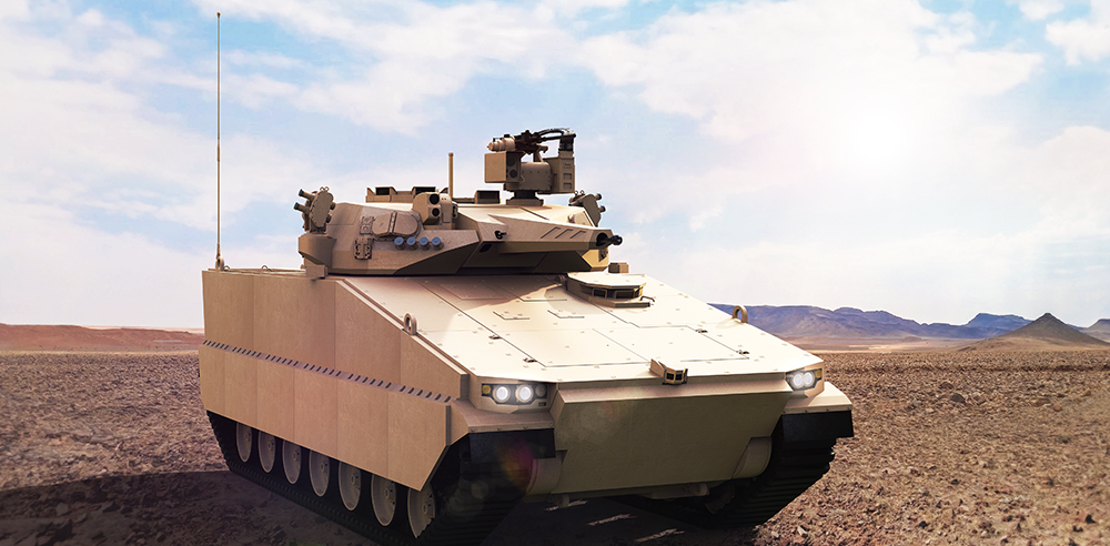 Hanwha's AS21 Redback IFV. Hanwha Defense.