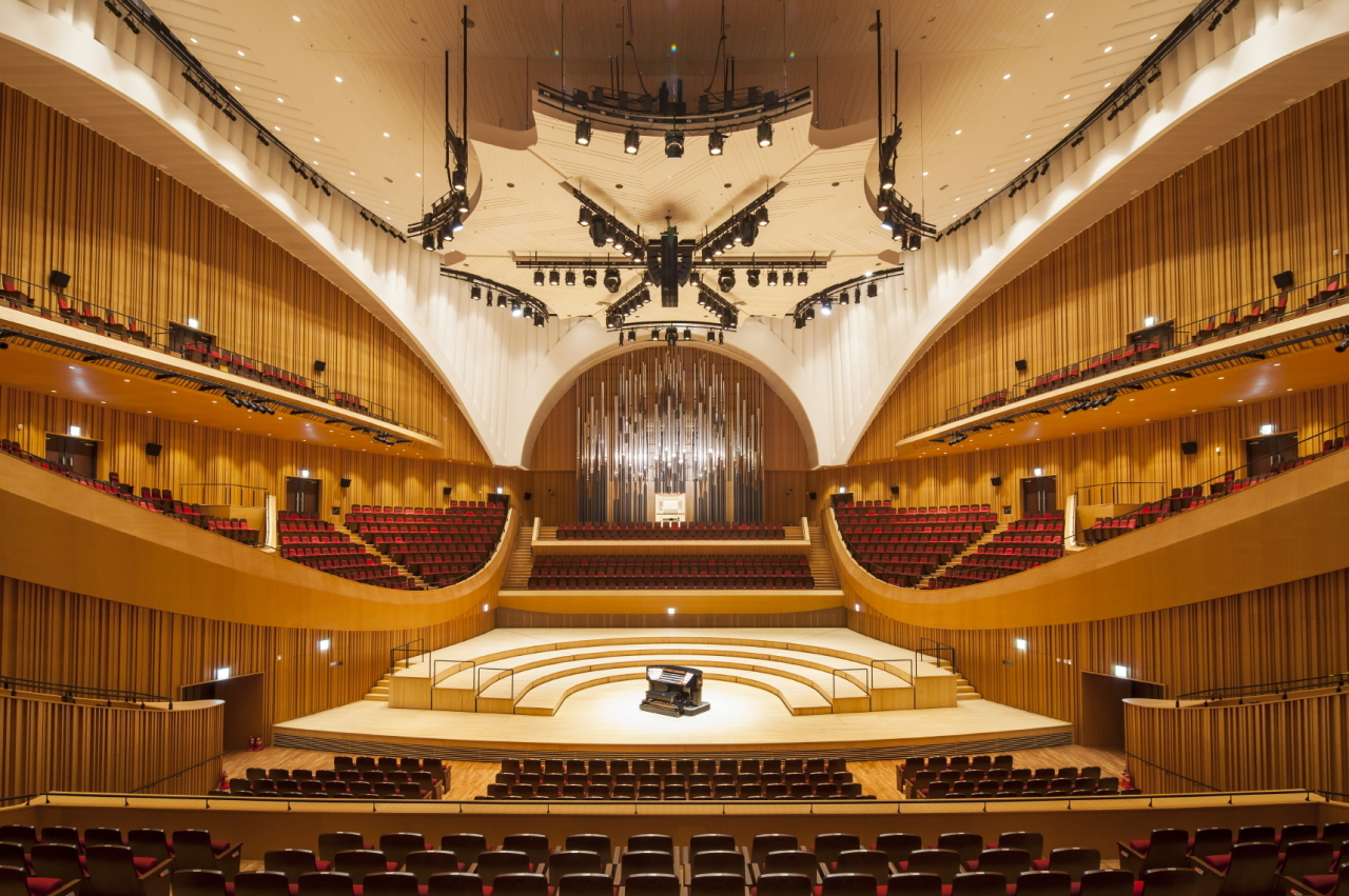The pipe organ at the Lotte Concert Hall (Lotte Foundation for Arts)