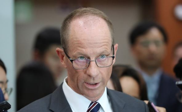 David Stilwell (Yonhap)
