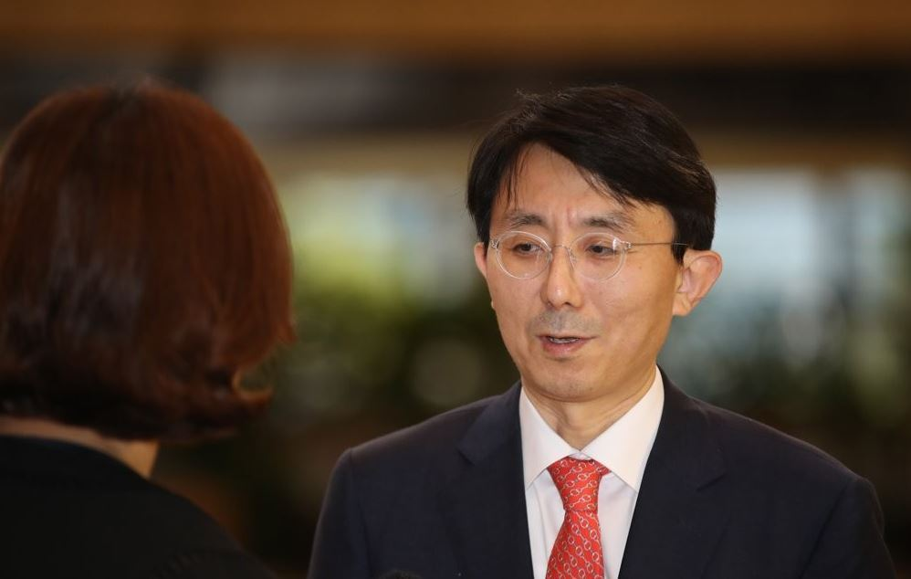 Director general Kim Jung-han of Asian and Pacific Affairs at Seoul's Foreign Ministry (Yonhap)