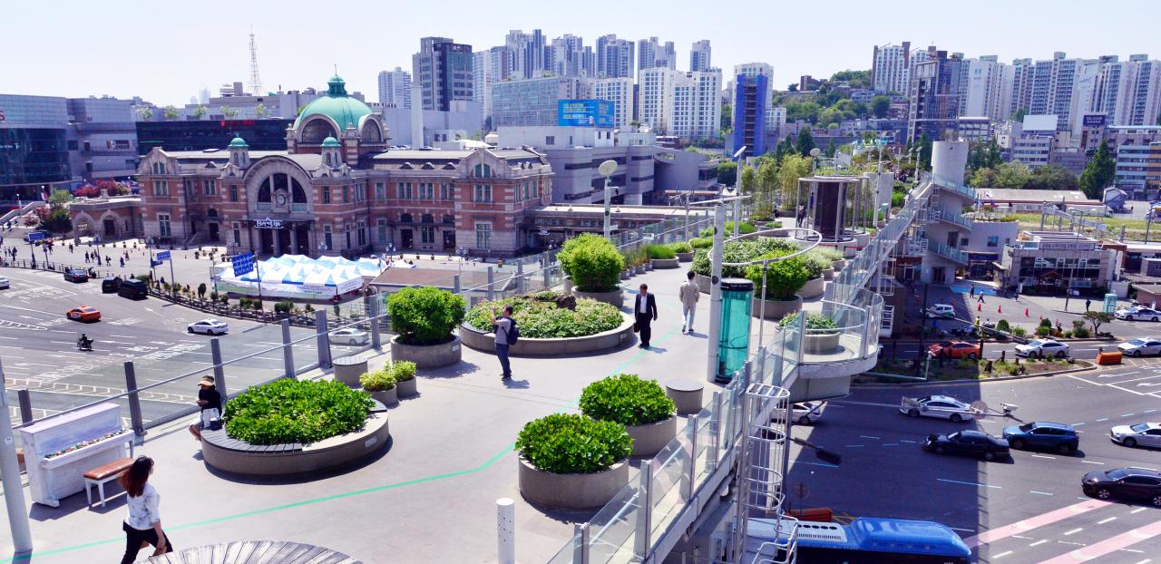 Seoullo 7017 (Park Hyun-koo/The Korea Herald)