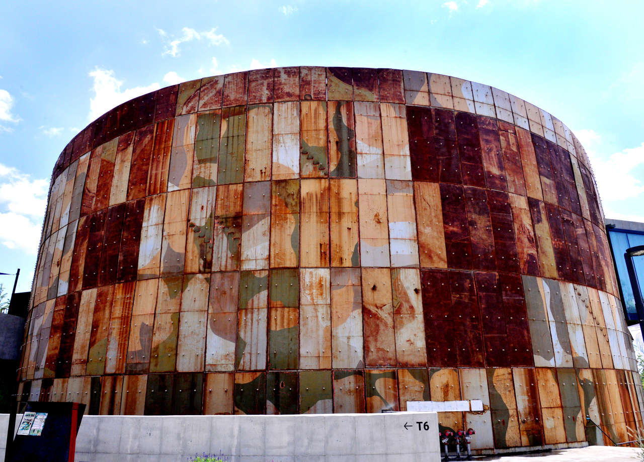 Oil Tank Culture Park (Park Hyun-koo/The Korea Herald)