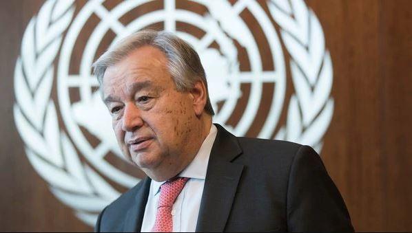 UN Secretary-General Antonia Guterres (AP)