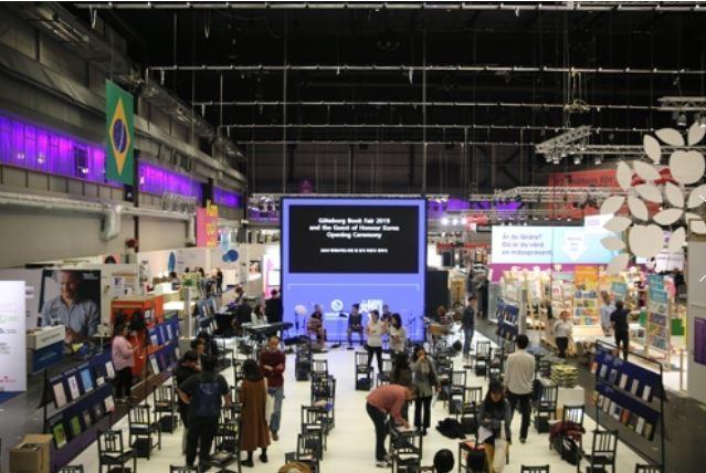 2019 Gothenburg Book Fair in Gothenburg, Sweden (Yonhap)