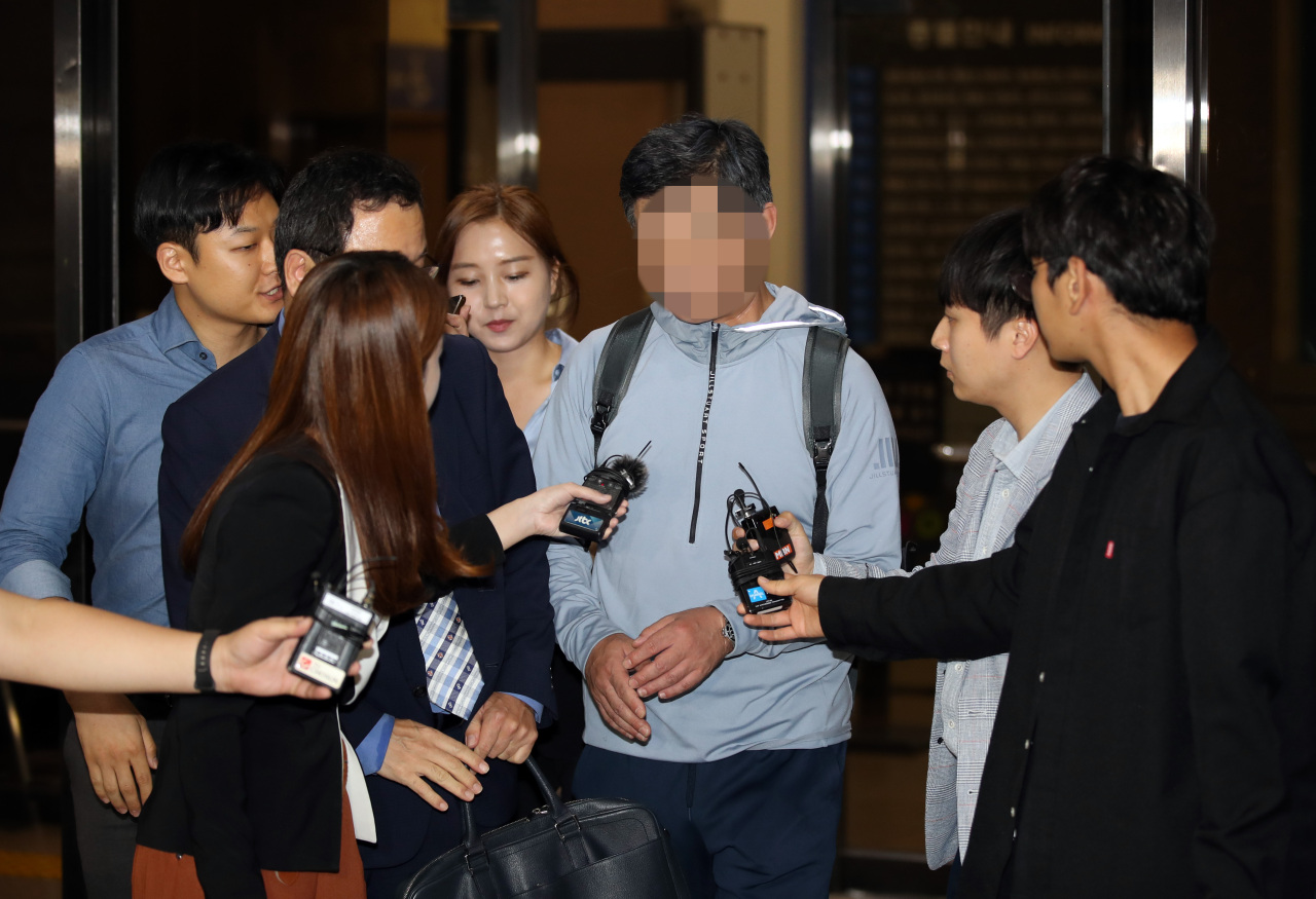 Justice Minister Cho Kuk's younger brother (Yonhap)