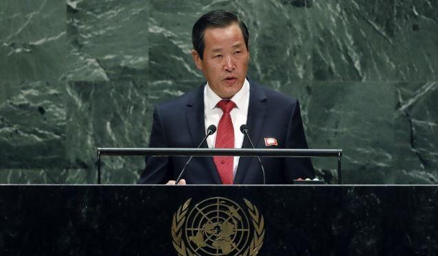 North Korean Ambassador to the United Nations Kim Song (AP-Yonhap)