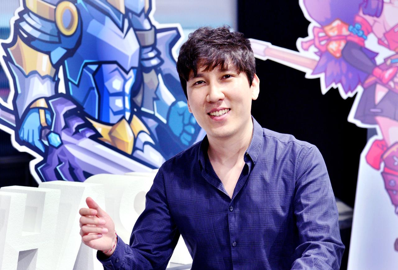 Blockchain accelerator Hashed CEO Simon Kim Park Hyun-koo/The Korea Herald