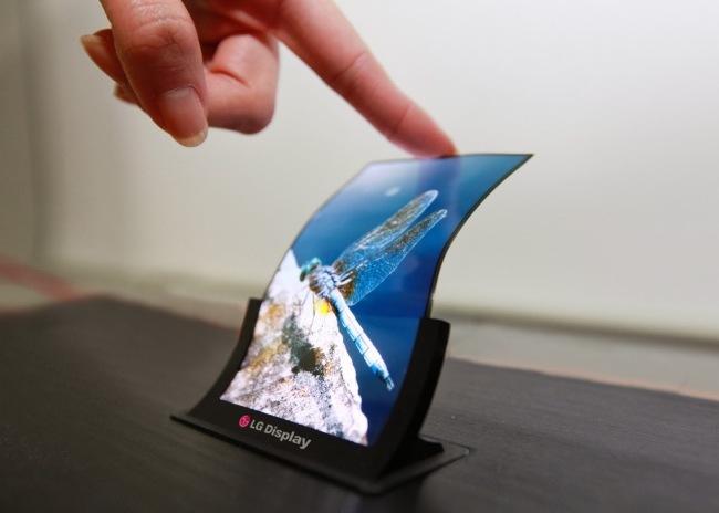 LG Display's P-OLED product (LG Display)