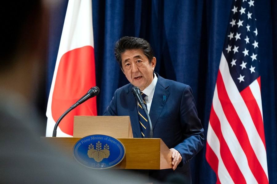 Japan's Prime Minister Shinzo Abe (AP)