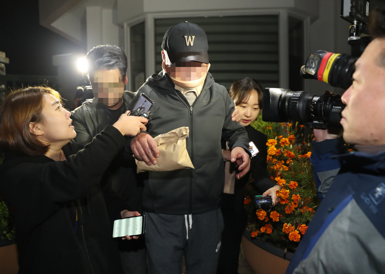 Justice Minister Cho Kuk's brother(Yonhap)