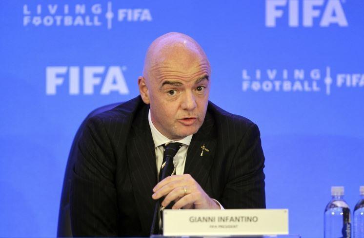 FIFA President Gianni Infantino (AP)