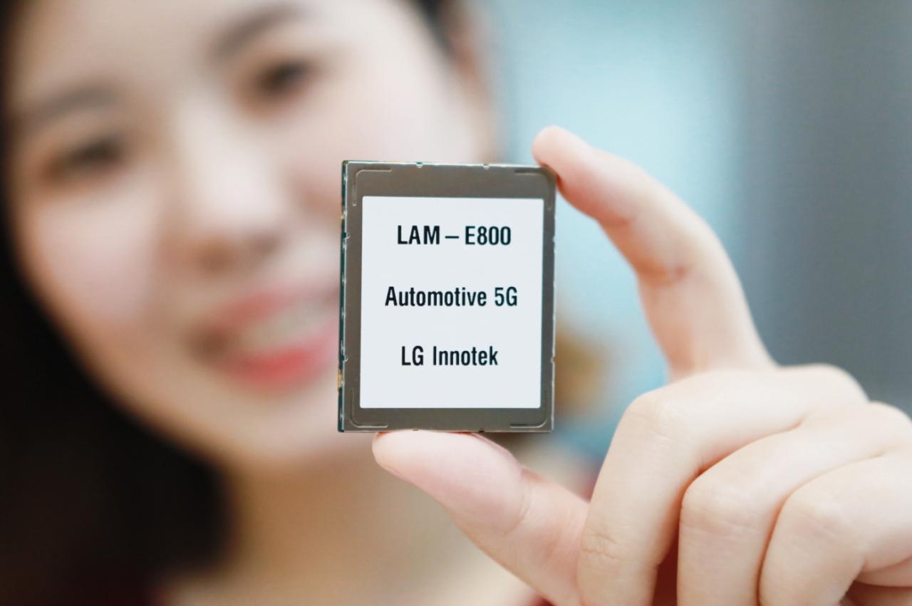 LG Innotek's 5G automotive communications module (LG Innotek)