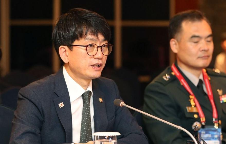 Vice Defense Minister Park Jae-min (Yonhap)