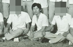 A photo of killer Lee Chun-jae from his high school days (Yonhap)