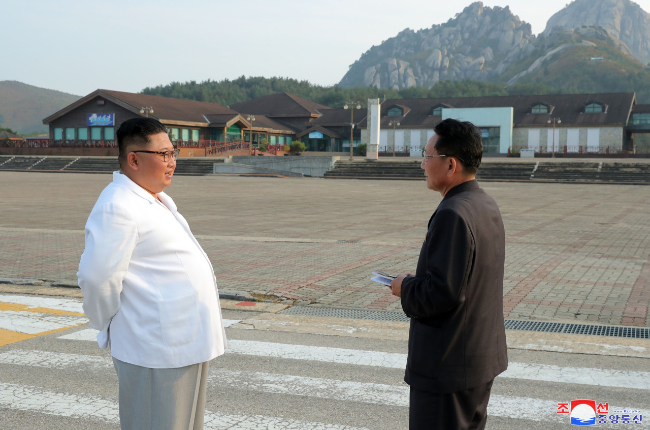 North Korean leader Kim Jong-un (Yonhap)