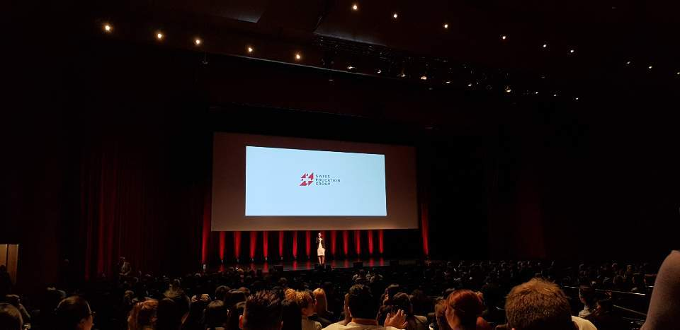 Students attend International Recruitment Forum 2019. (SEG)