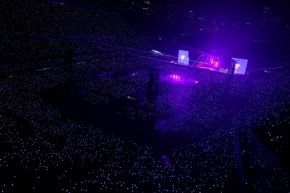 BTS` concert in Soldier Field, Chicago (Big Hit Entertainment)