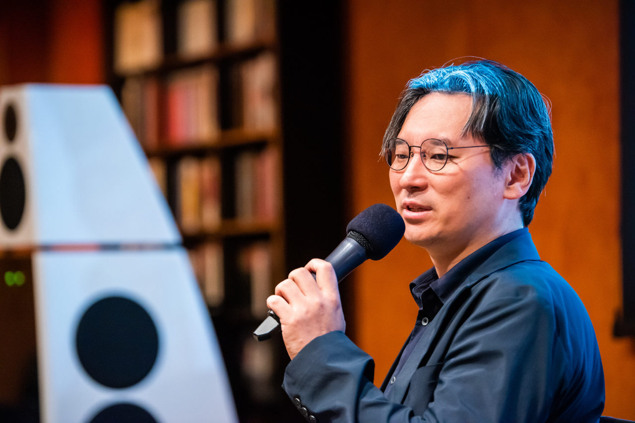 SIMF's artistic director Ryu Jea-joon speaks at a press event, Tuesday in southern Seoul. (SIMF)