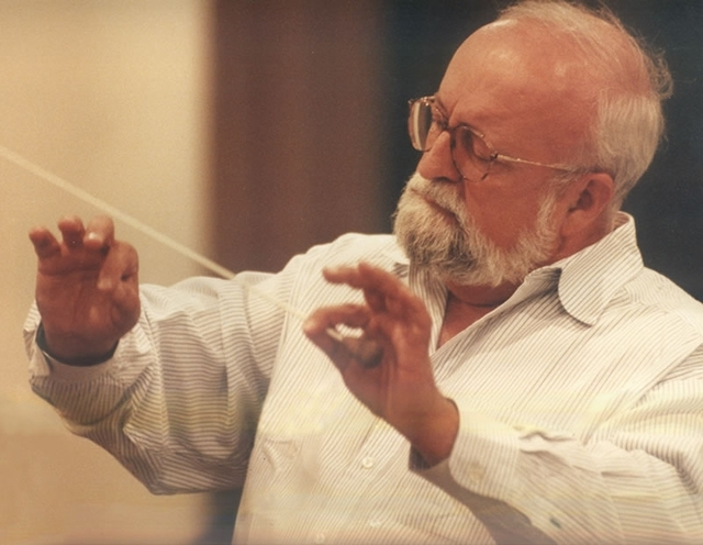 Polish composer and conductor Krzysztof Penderecki (SIMF)