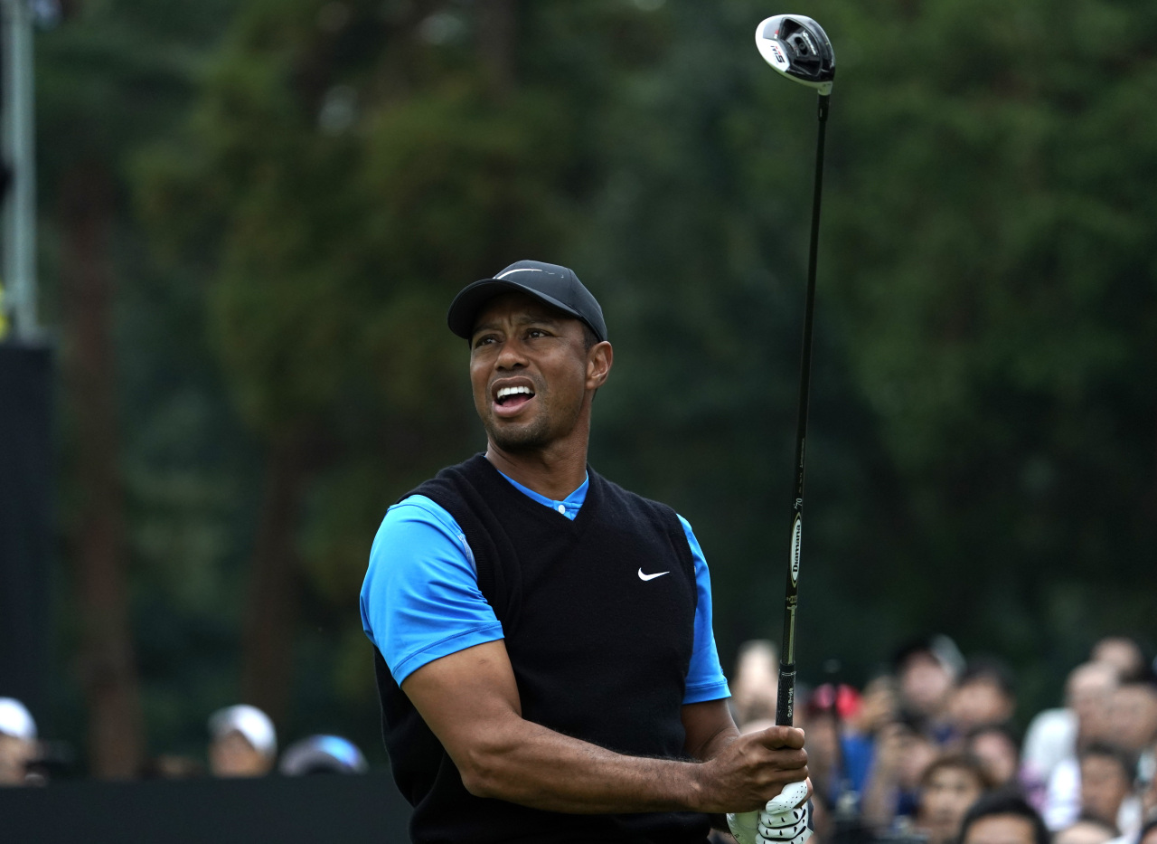 Tiger Woods (AP-Yonhap)