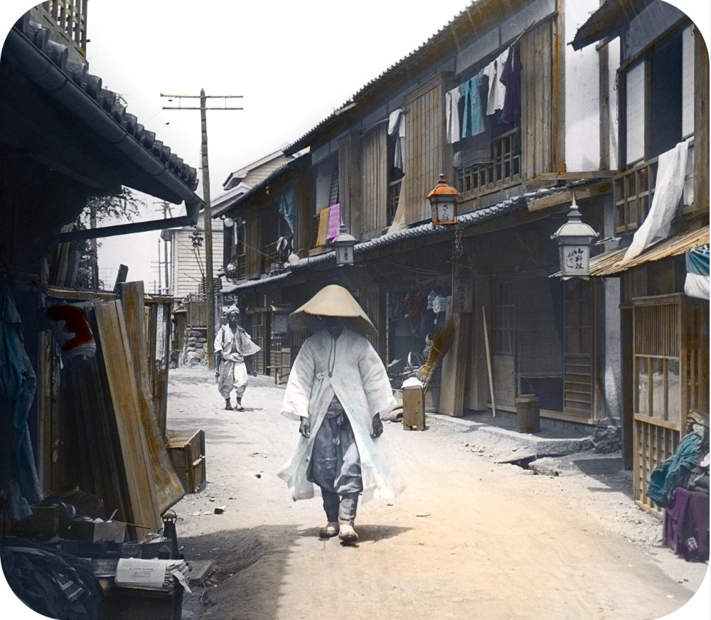 Street of Japanese-style houses in Jemulpo (Seoul Museum of History)