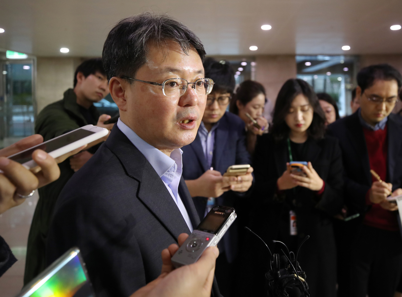 Yoon Myun-shik, senior deputy governor of Bank of Korea. (Yonhap)