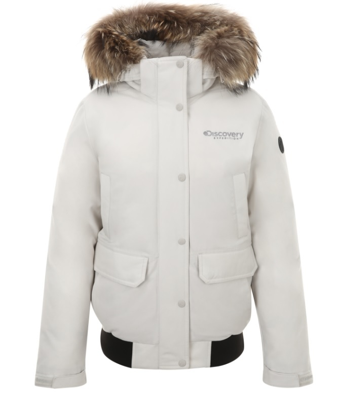 Discovery's short down jacket for women