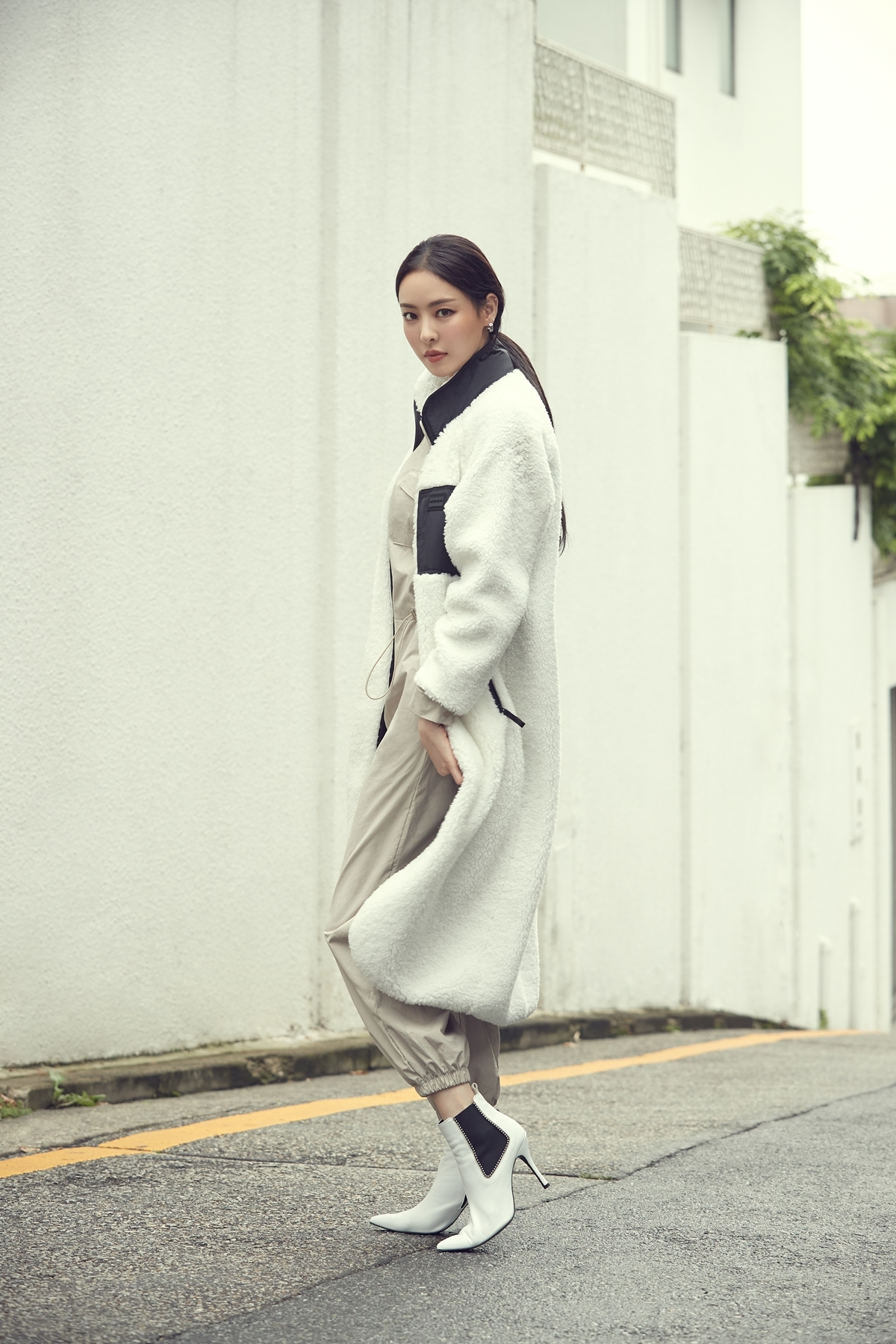 Eider's long fleece jacket