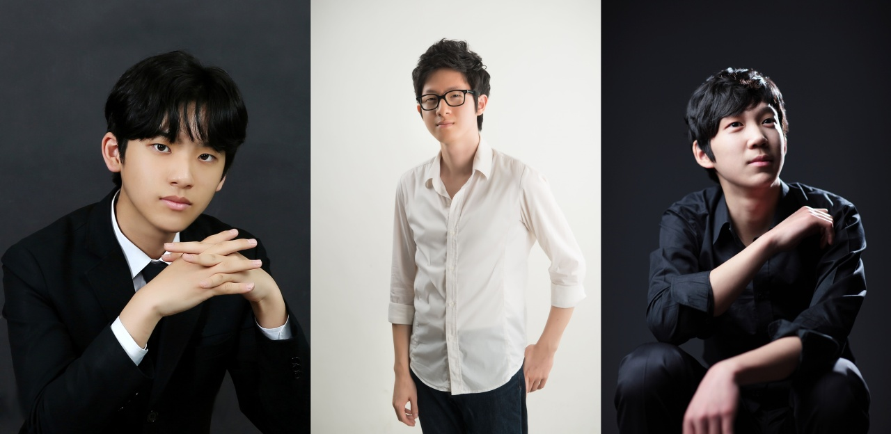 From left: Lim Yun-chan, Park Kyoung-sun and Kim Kang-tae (TIMF)