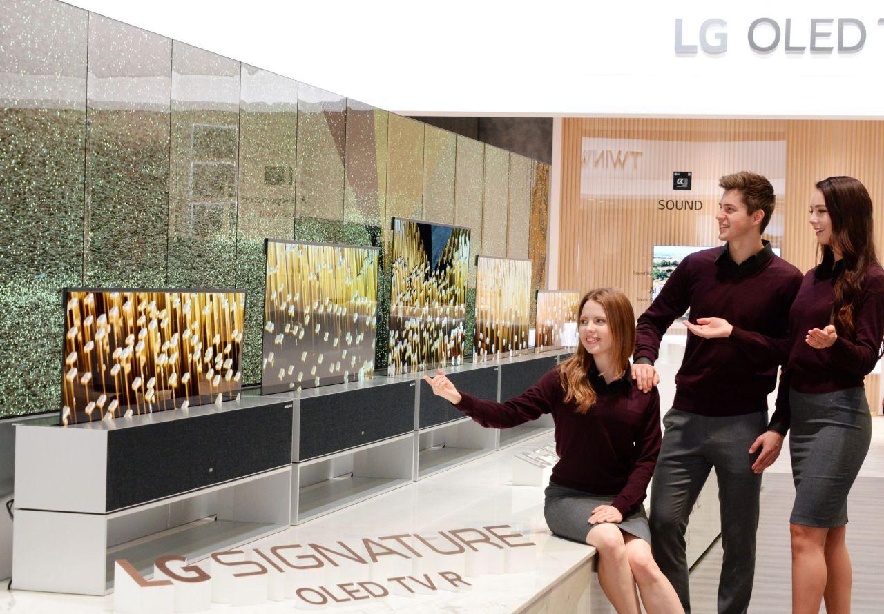 LG's Signature OLED TV R (LG Electronics)